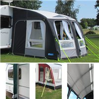 Kampa Rally Ace AIR 300 Awning Package Deal 2016