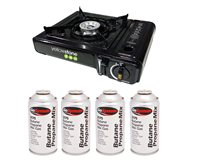 Yellowstone Uno Gas Stove Package Deal