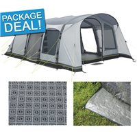 Outwell Cruiser 6AC Air Tent Package Deal 2016