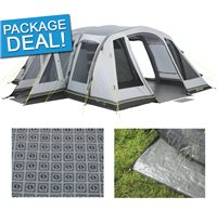 Outwell Montana 6AC Air Tent Package Deal 2016