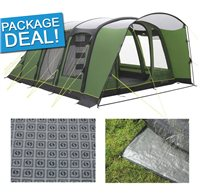 Outwell Flagstaff 6A Air Tent Package Deal 2016