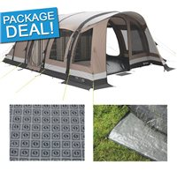 Outwell Harrier 6SATC Air Tent Package Deal 2016