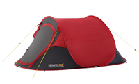 Regatta Malawi 2 Pop Up Tent 2020 (Option: Pepper Red / Seal Grey)