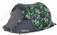 Regatta Malawi 2 Pop Up Tent Print