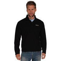 Regatta Thompson Mens Fleece Black