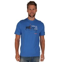 Regatta Algar Mens T Shirt Blue