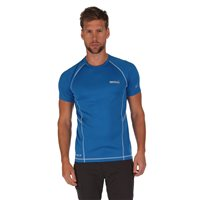 Regatta Luray Mens T Shirt Blue