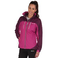 Regatta Calderdale 2 Womens Jacket Viola/Blackcurrant