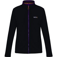 Regatta Clemance II Women Fleece Black/Blackcurrant
