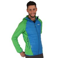 Regatta Andreson II Mens Hybrid  Jacket Green Blue