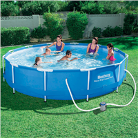 Bestway 12ft x 30ins Steel Pro Frame Pool Set