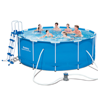 Bestway 12ft x 48ins Steel Pro Frame Pool Set