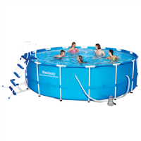 Bestway 15ft x 48ins Steel Pro Frame Pool Set