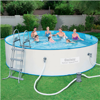 "Bestway 15' x  36"" Hydrium Splasher Pool Set"