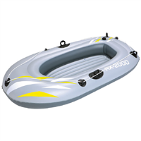 "Bestway 61"" x 37"" RX-2000 Grey Inflatable Boat"