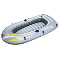 "Bestway 88"" x 43""  RX-4000 Grey Inflatable Boat"