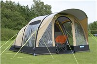 Kampa Brean 4 Classic Air Pro Inflatable Tent 2017