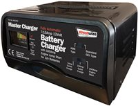 Streetwize 7 and 15 Amp Automatic Battery Charger and 100 Amp Engine Starter 12V