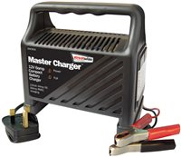 Streetwize Plastic Cased 12V 6 Amp Battery Charger