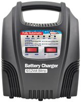 Streetwize 6 and 12V 8 Amp Fully LED Automatic Battery Charger