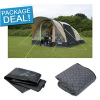 Kampa Brean 4 Classic Air Pro Package Deal 2017