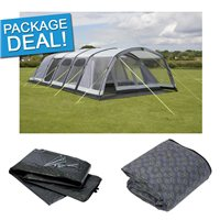 Kampa Studland 8 Air Pro Tent Package Deal 2017