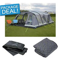 Kampa Croyde 6 Air Pro Tent Package Deal 2017