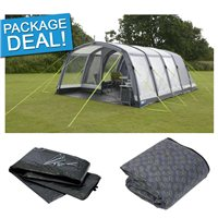 Kampa Hayling 6 Air Pro Tent Package Deal 2017