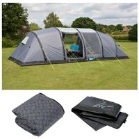 Kampa Watergate 8 Air Advantage Tent Package Deal 2017