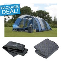 Kampa Paloma 6 Air Advantage Tent Package Deal 2017 Blue