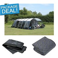Kampa Croyde 8 Tent Package Deal 2017