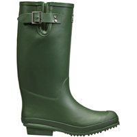 Briers Green Gusseted Rubber Wellington Boots