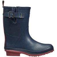 Briers Half Rubber Wellington Boots Navy