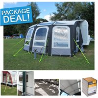 Kampa Ace Air Pro 400 Caravan Awning Package Deal 2017