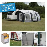 Kampa Kampa Ace Air Pro 500 Caravan Awning Package Deal 2017