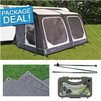 Outdoor Revolution Sport Air 325 Awning Package Deal 2017