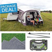 Outdoor Revolution Elan 280 Air Awning Package Deal 2017