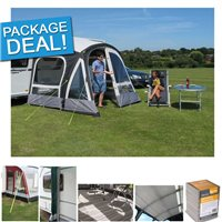 Kampa Fiesta Air Pro 280 Caravan Awning Package Deal 2018
