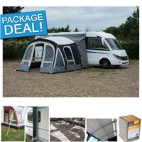 Kampa Motor Fiesta Air Pro 350 Driveway Awning Package Deal 2017