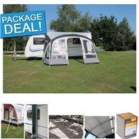 Kampa Kampa Fiesta Air Pro 420 Caravan Awning Package Deal 2018