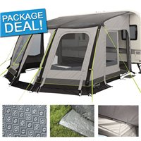 Outwell Mirage 500SA Caravan Awning Package Deal 2017