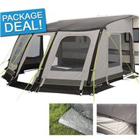 Outwell Mirage 400SA Caravan Awning Package Deal 2017