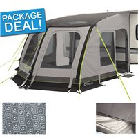 Outwell Mirage 300SA Caravan Awning Package Deal 2017