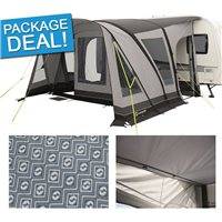 Outwell Corsair 400SA Caravan Awning Package Deal 2017