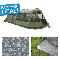 Outwell Vermont 6E Tent Package Deal 2017