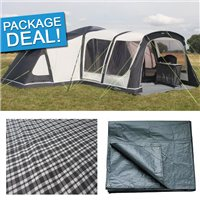 Outdoor Revolution Airedale 12 Air Tent Package Deal 2017