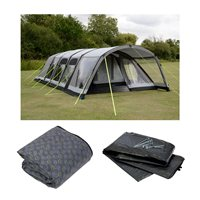Kampa Studland 8 Classic Air Pro Tent Package Deal 2018