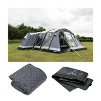 Kampa Bergen 6 Air Pro Tent Package Deal