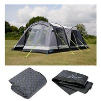 Kampa Bergen 4 Air Pro Tent Package Deal 2018