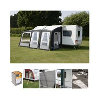 Kampa Dometic Rally AIR Pro 260 PLUS Caravan Awning Package Deal 2019 Left